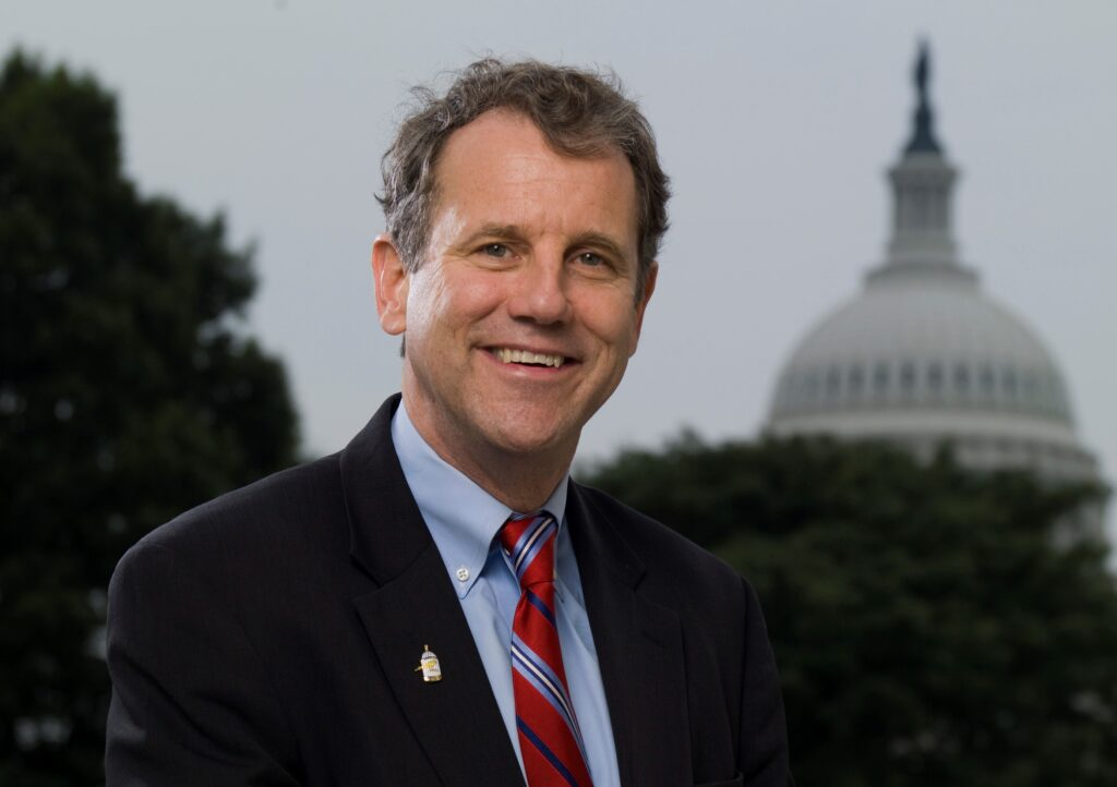 Senator Sherrod Brown provides small business owners with information on the CARES Act