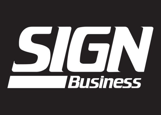 Gable - Sign Business Magazine Sign Contest