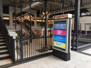 interactive kiosk, kiosk, digital kiosk, digital signage