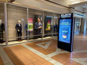 Atlantic Terminal, Interactive Kiosk, kiosk, digital signage, digital kiosk, retail