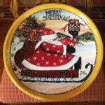 Christmas Plates and Platters Pottery