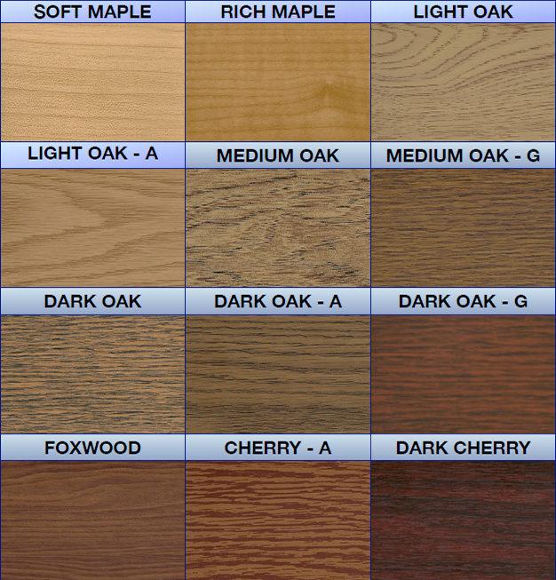 Wood Grain Samples