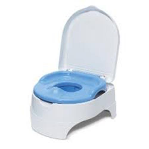 Potty seat with lid for rent