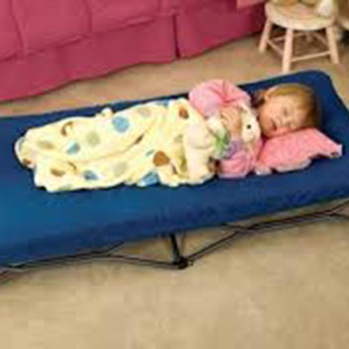 Fabric toddler bed