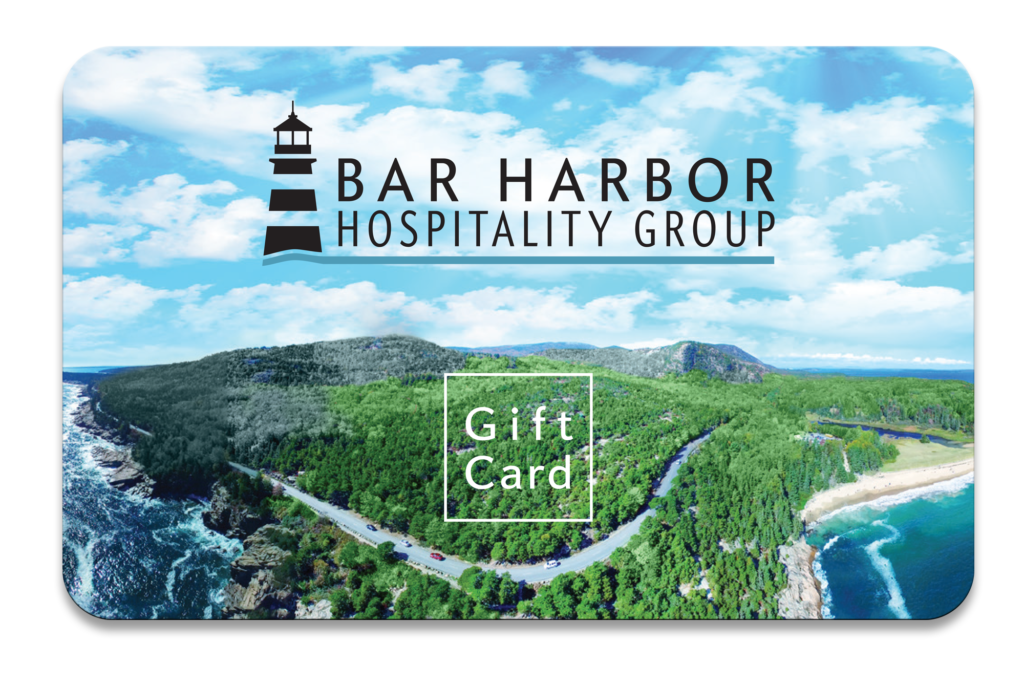 Photo of the Bar Harbor Hospitality Group gift card