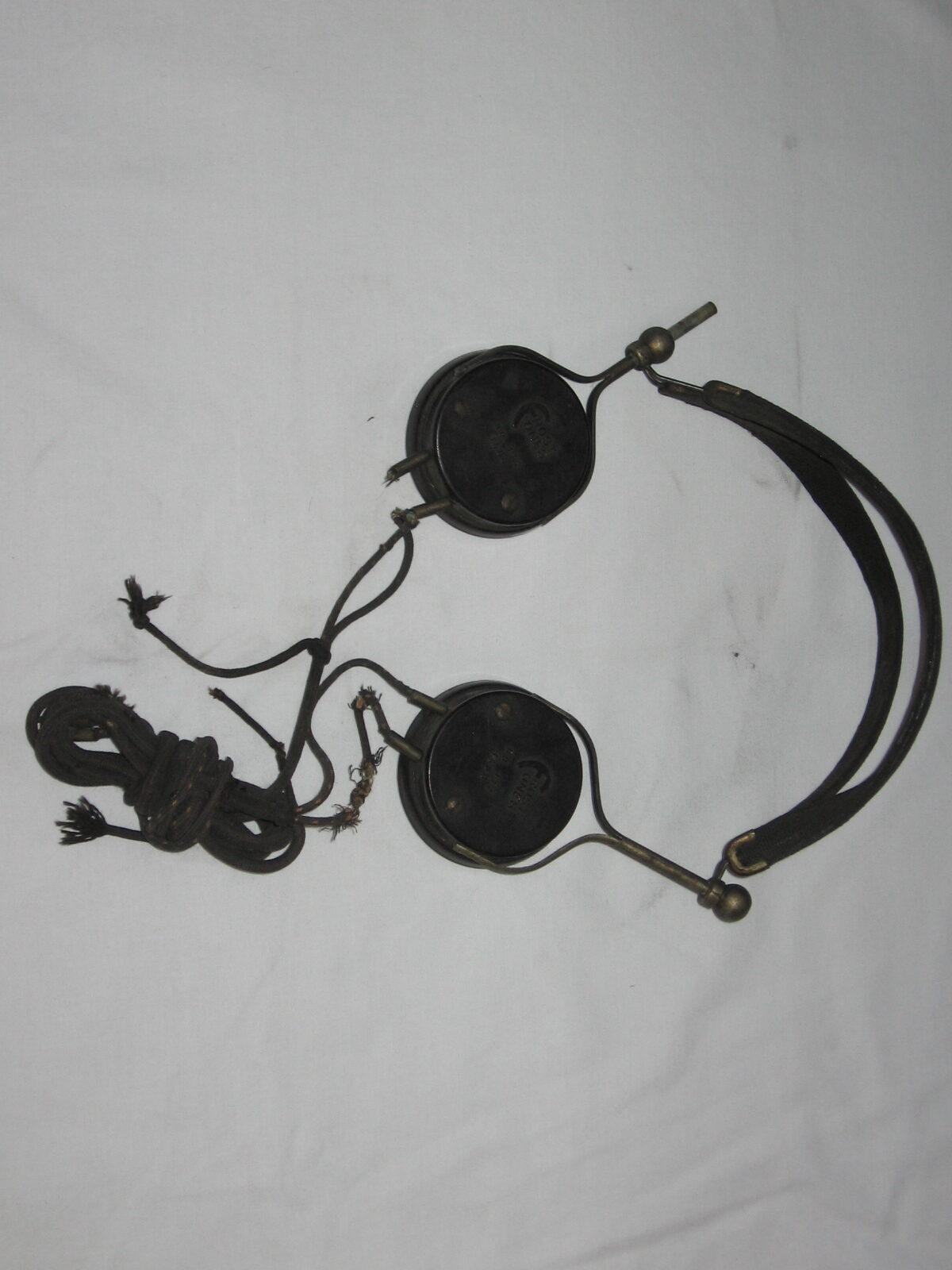 PARS Antique Radio Headphones