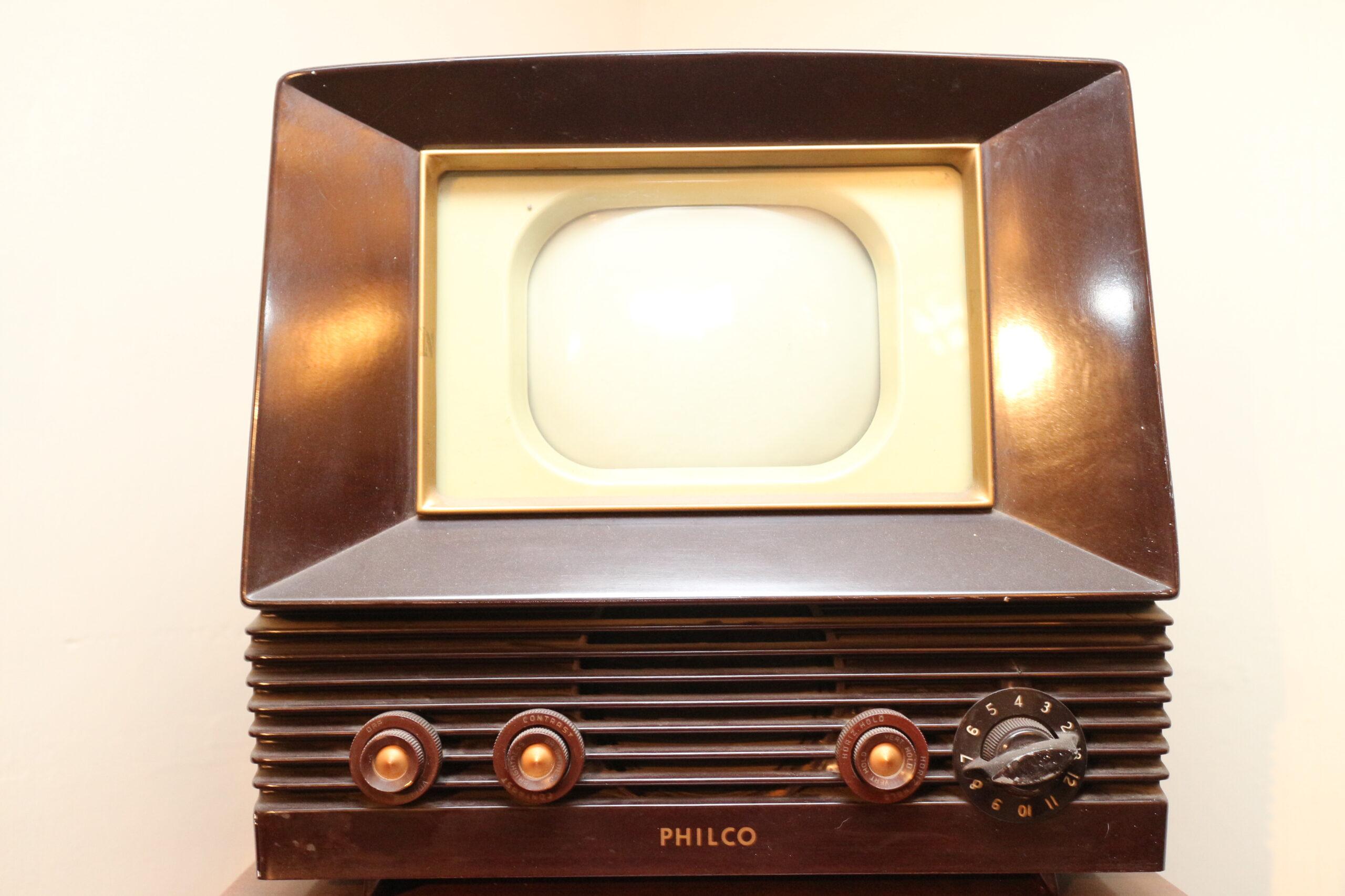 PARS Philco 7 Inch TV