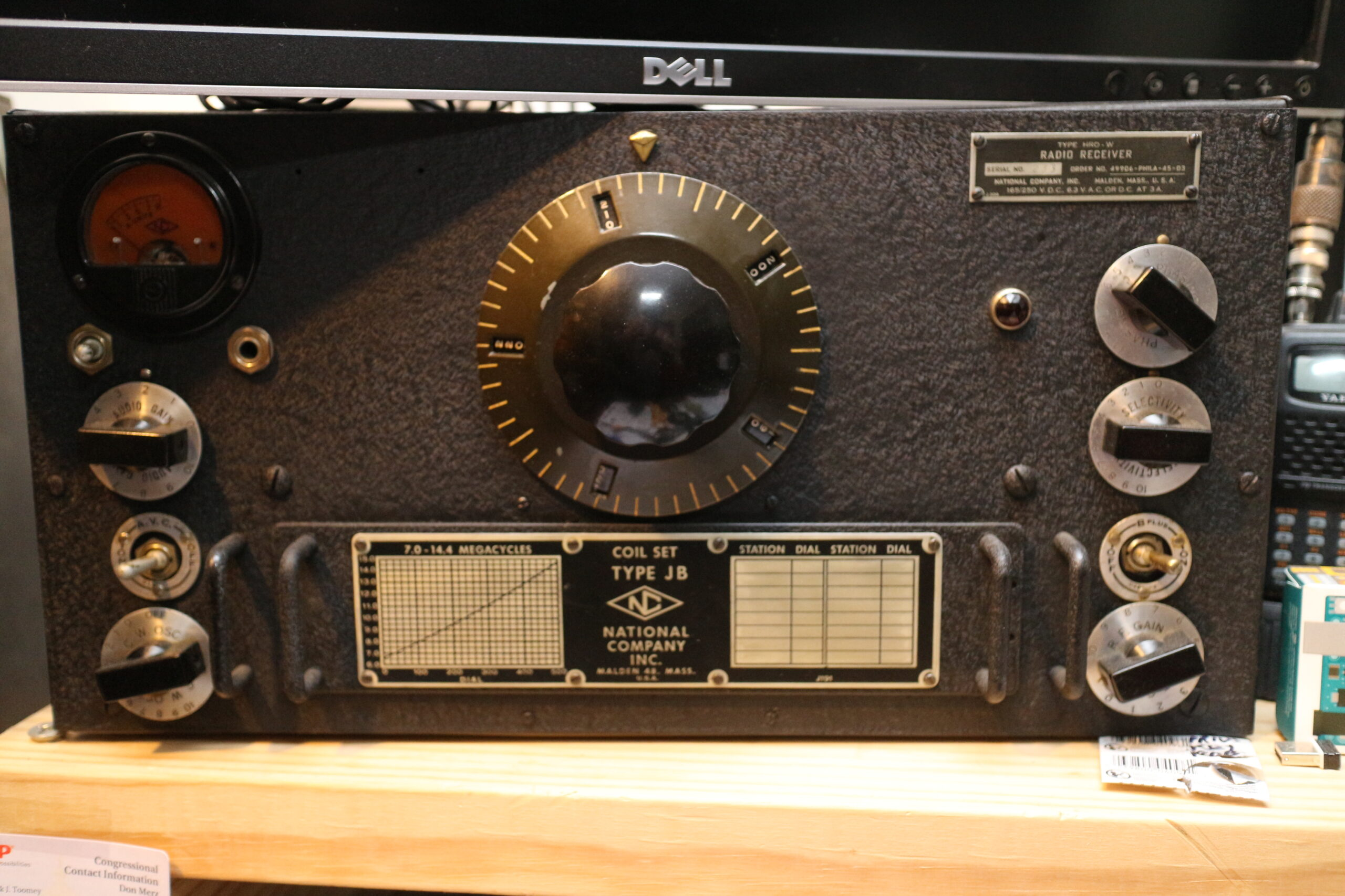 PARS WWII HRO Receiver