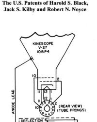 8. U.S. Patents of Harold S. Black, Jack S. Kilby and Robert N. Noyce