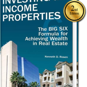 Investing-In-Income-Porperties-by-Kenneth-Rosen-2nd-Edition-Book-Cover