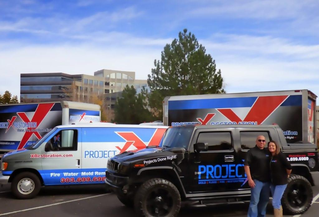 Commercial Fleet Wraps In Denver