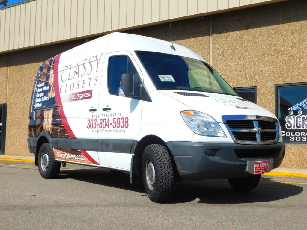Custom Fleet Vehicle Wrap