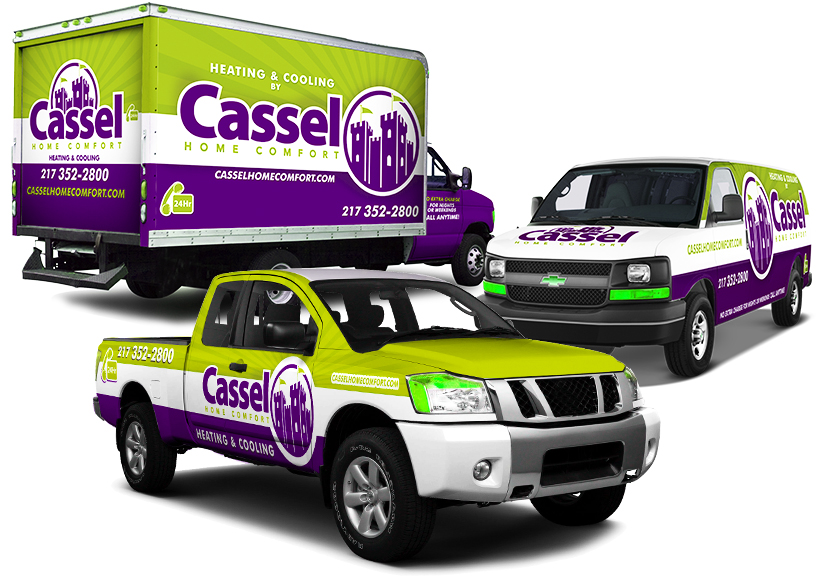 Fleet vehicles custom vinyl wraps