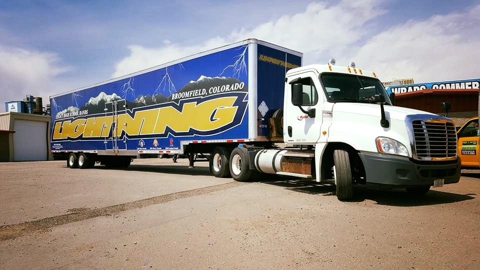Vehicle Wrap semi trailer