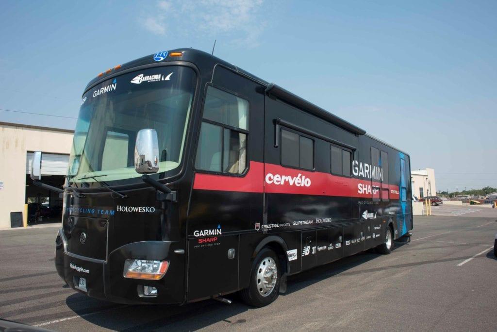 Vehicle Wrap - tour bus