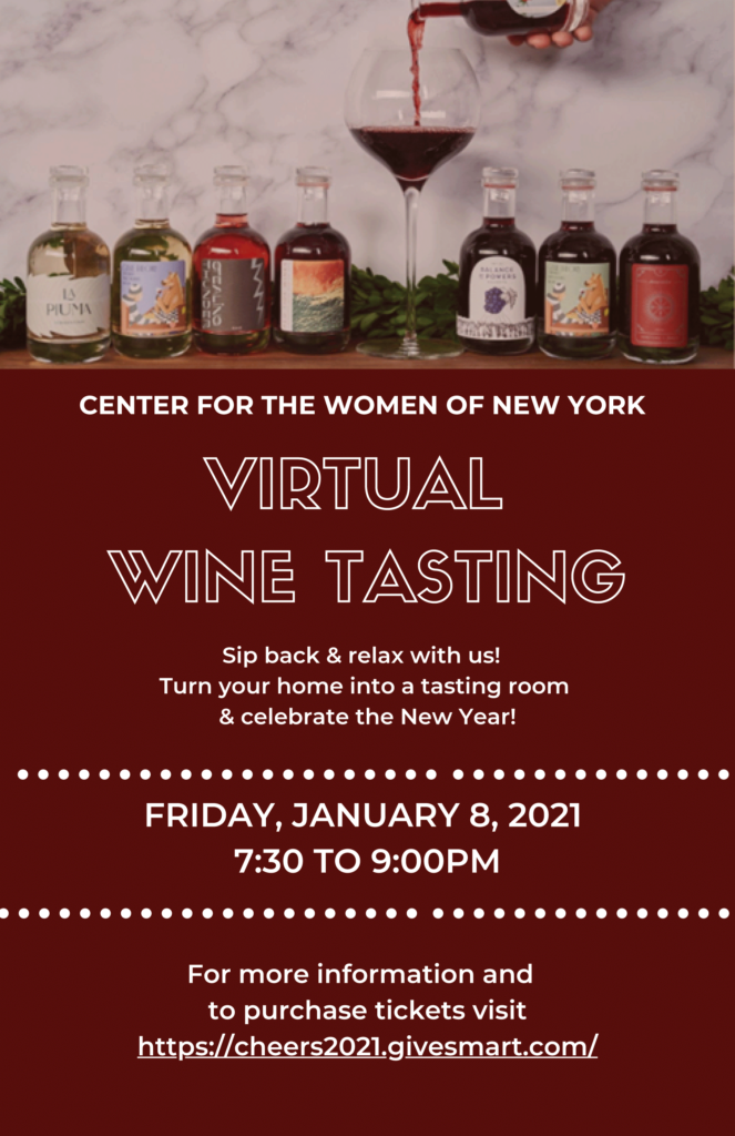 Virtual Wine Tasting - Cheers to 2021
