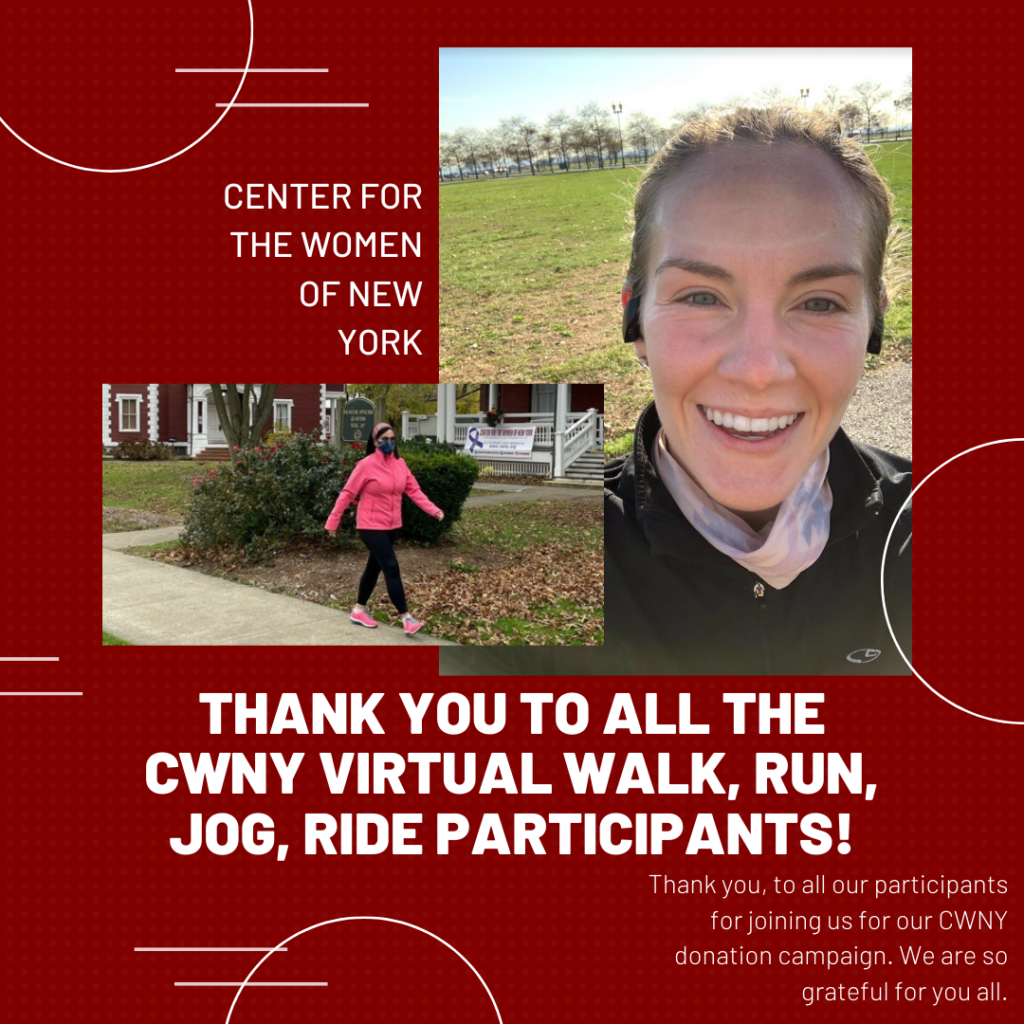CWNY Run/Walk/Jog/Ride donation campaign thanks to participants image