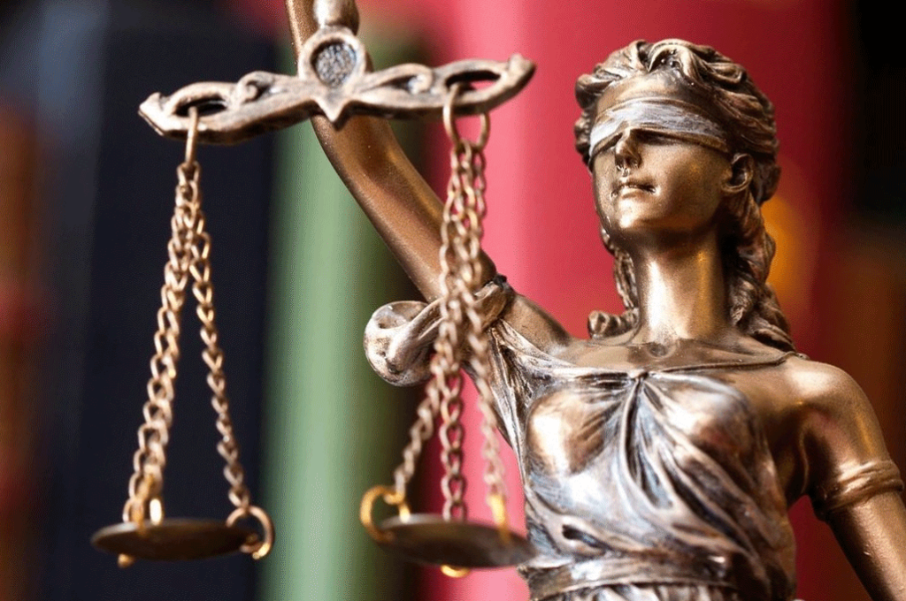 Lady Justice and the Scales of Justice