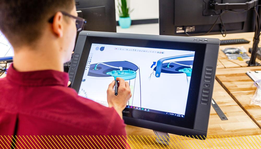Industrial Design Trends: Artist Designing Medical Device