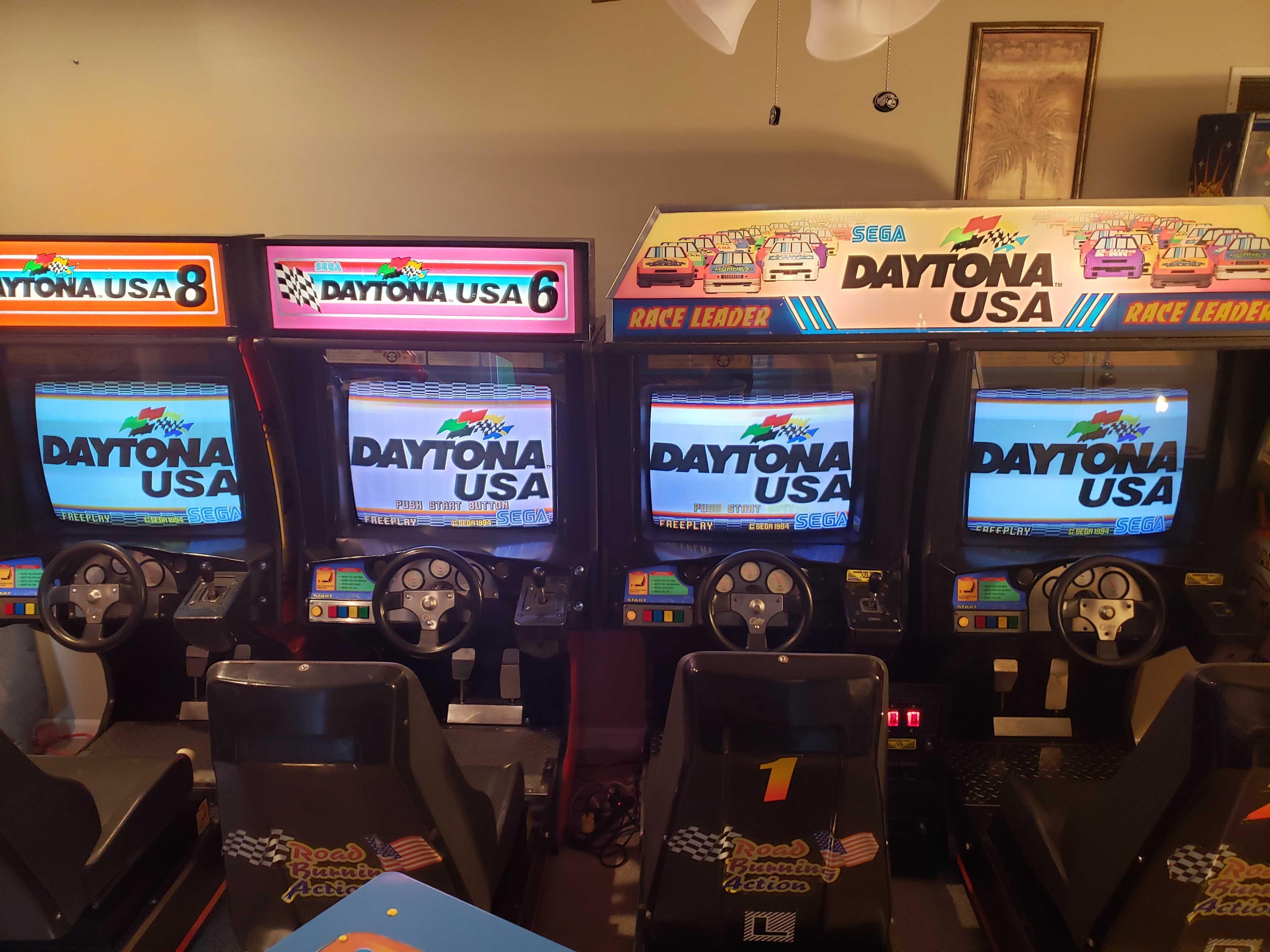 Arcade Cabinet Restoration of Daytona U.S.A. games