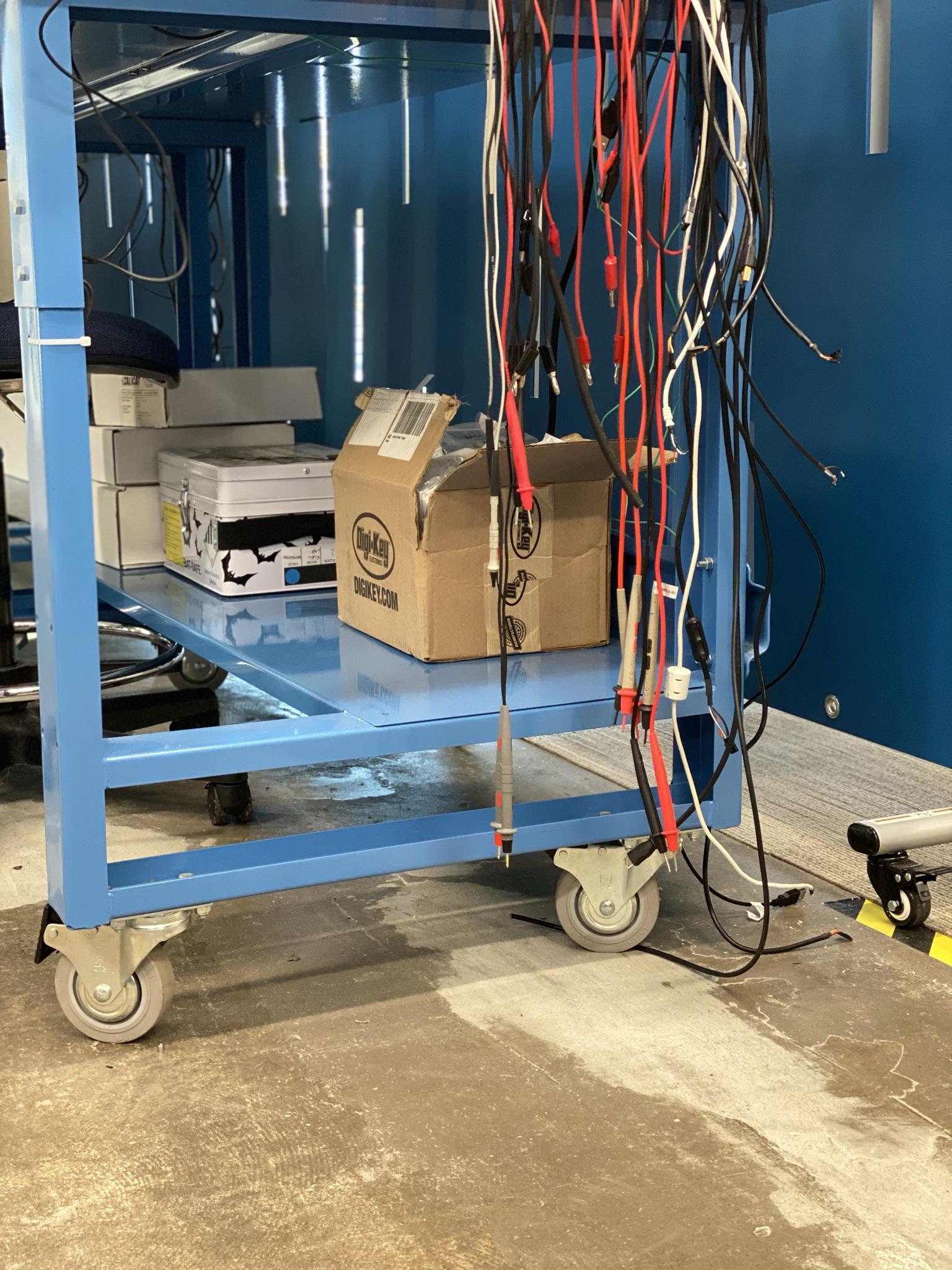 Agile Workspace - Electronics Lab On Wheels