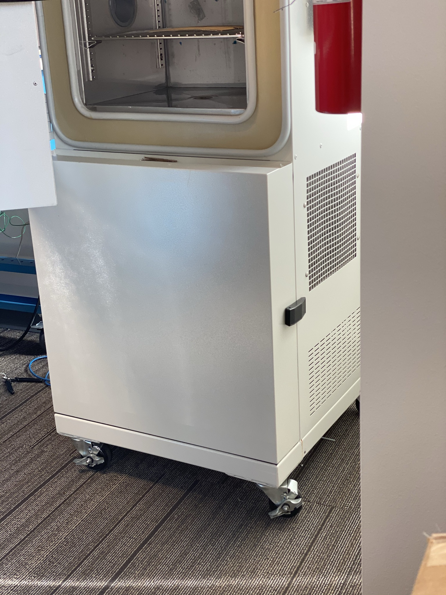 Agile Workspace - Testing Temperature Chamber On Wheels