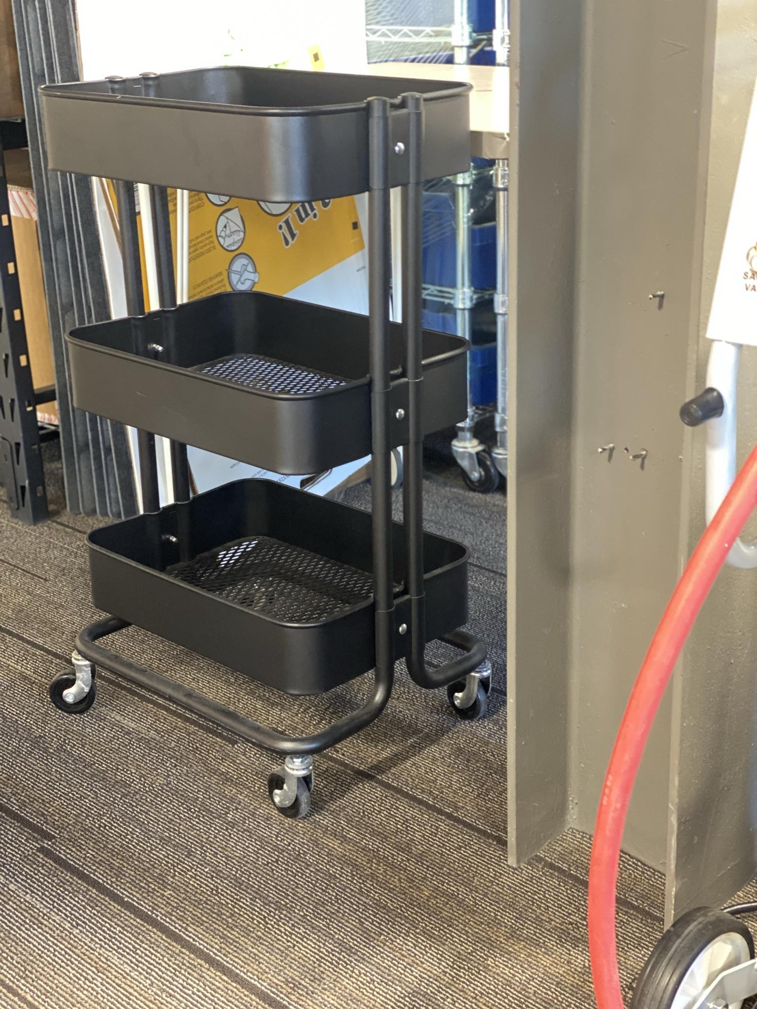 Agile Workspace - Storage Cart On Wheels