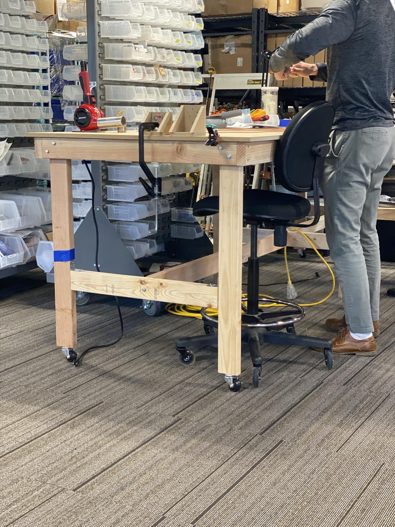 Agile Workspace - Model Shop On Wheels