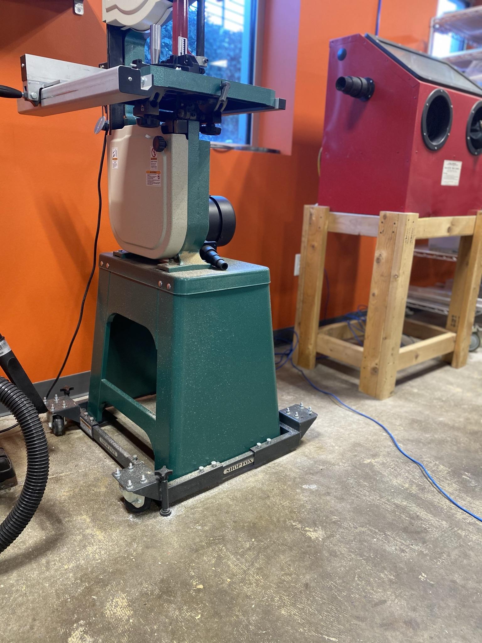 Agile Workspace - Drill Press On Wheels
