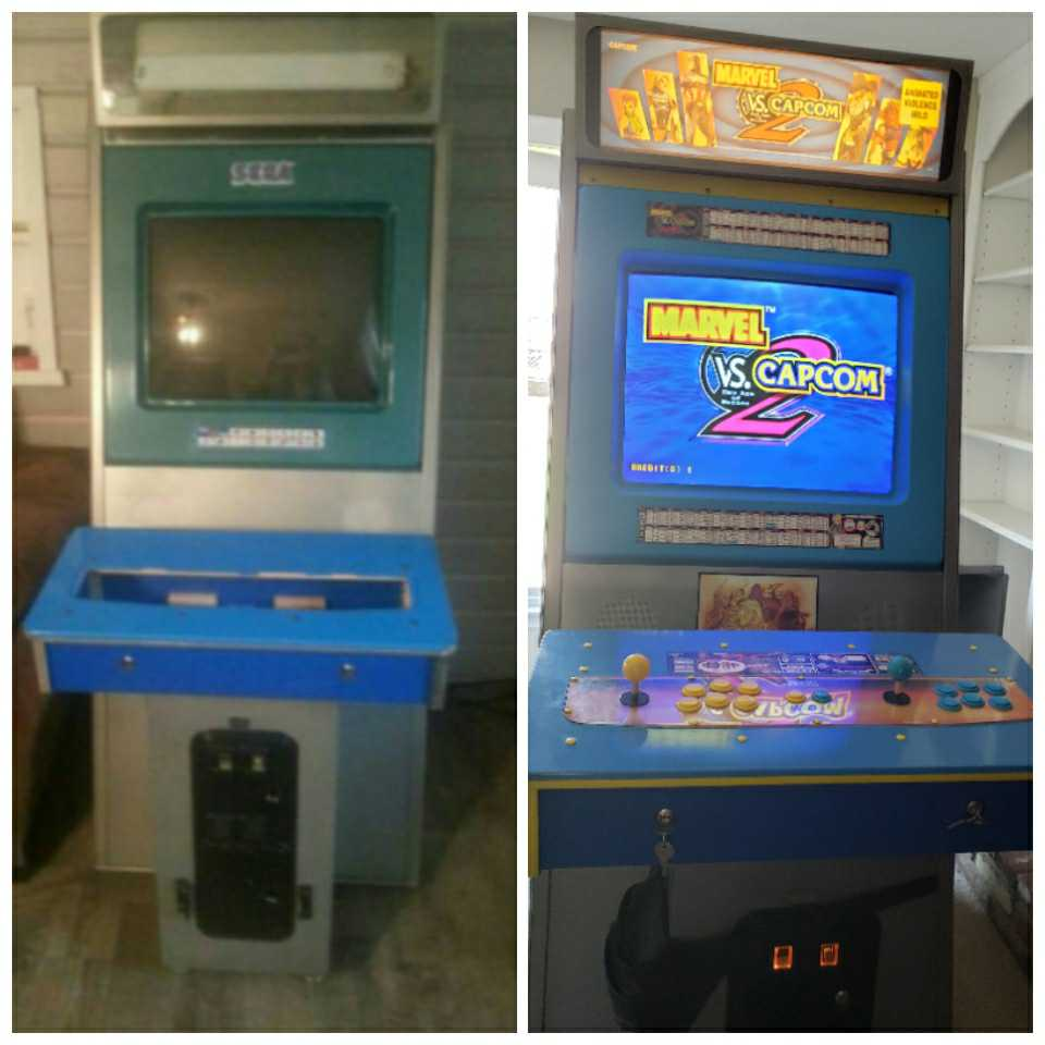 Arcade Cabinet Restoration Marvel vs. Capcom 2