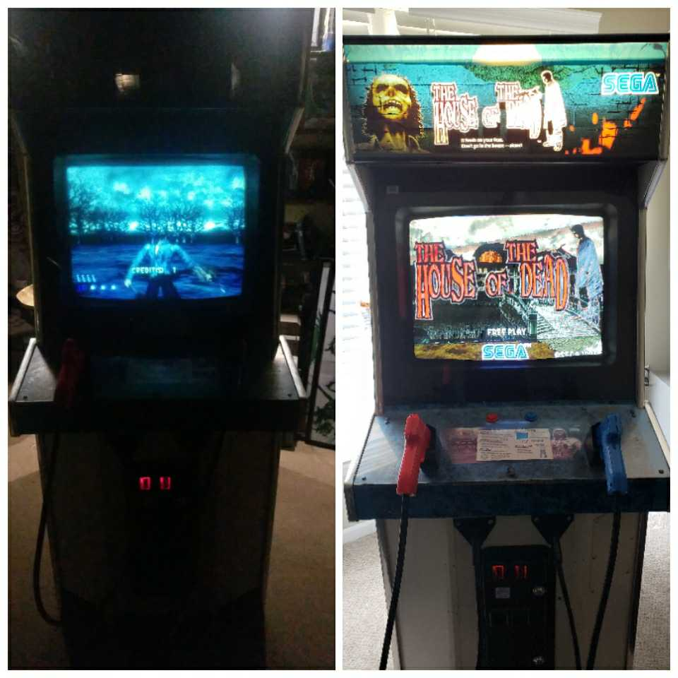 Arcade Cabinet Restoration House of the Dead