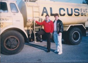 Photo of Fuel Oil Truck with the Alcus Family