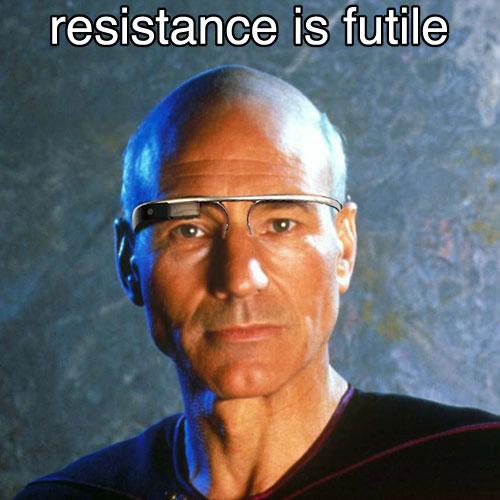 Picard Google Glass