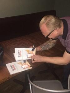 Josh Highland book signing