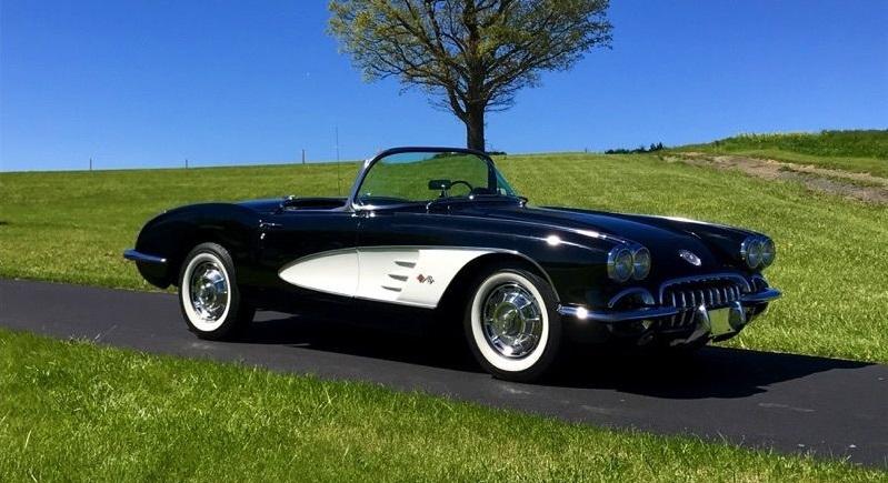 1959 Chevrolet Corvette Triple Black