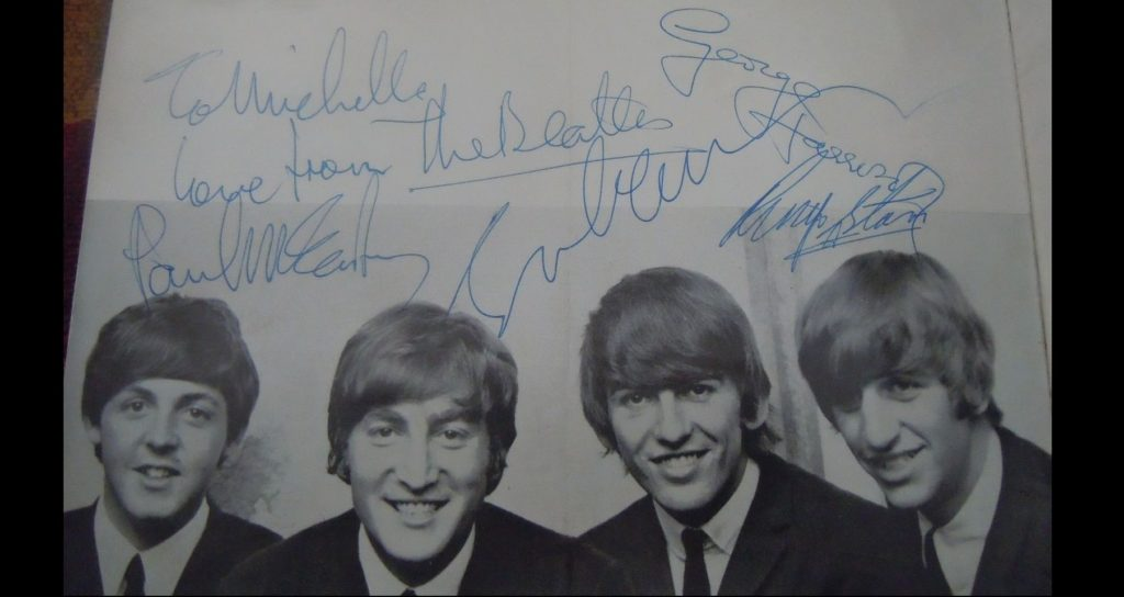 This is a Beatles pen pal story