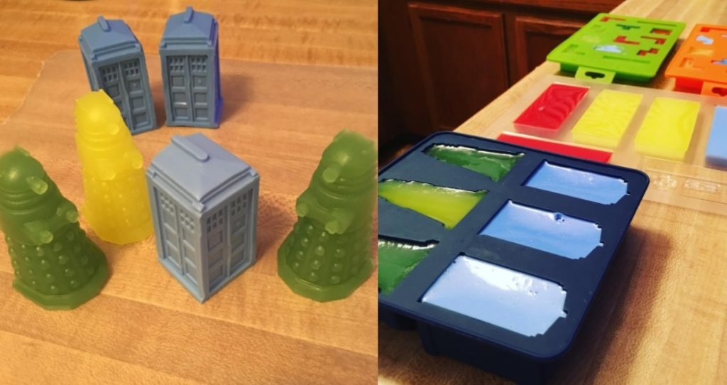 Do it yourself Soap Tardis and Daleks