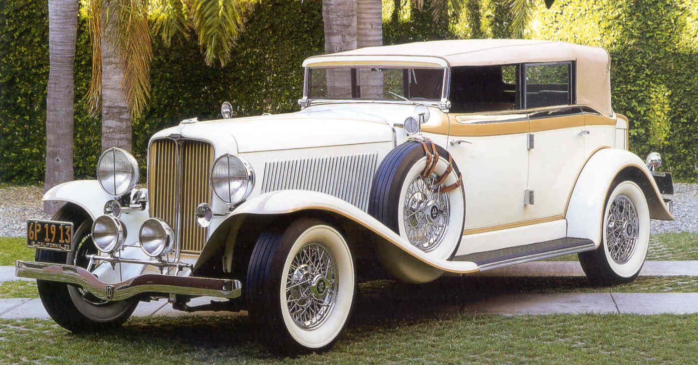 Auburn 1933 V12 Speedster