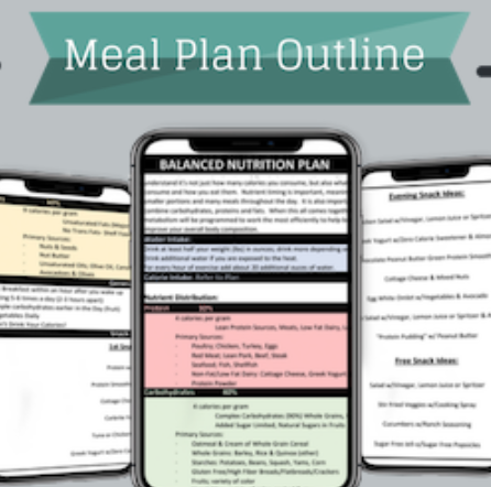Nutrition Plan Outline