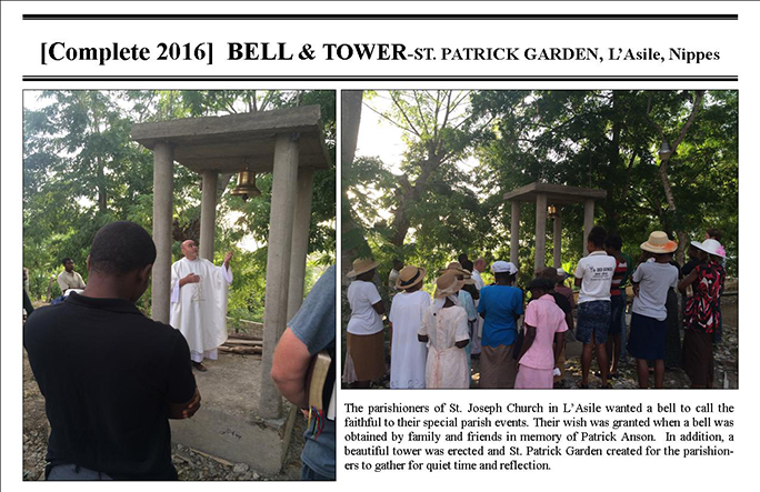 Belimage - ProjectsComplete - L'Asile StPatrick Garden - Bell