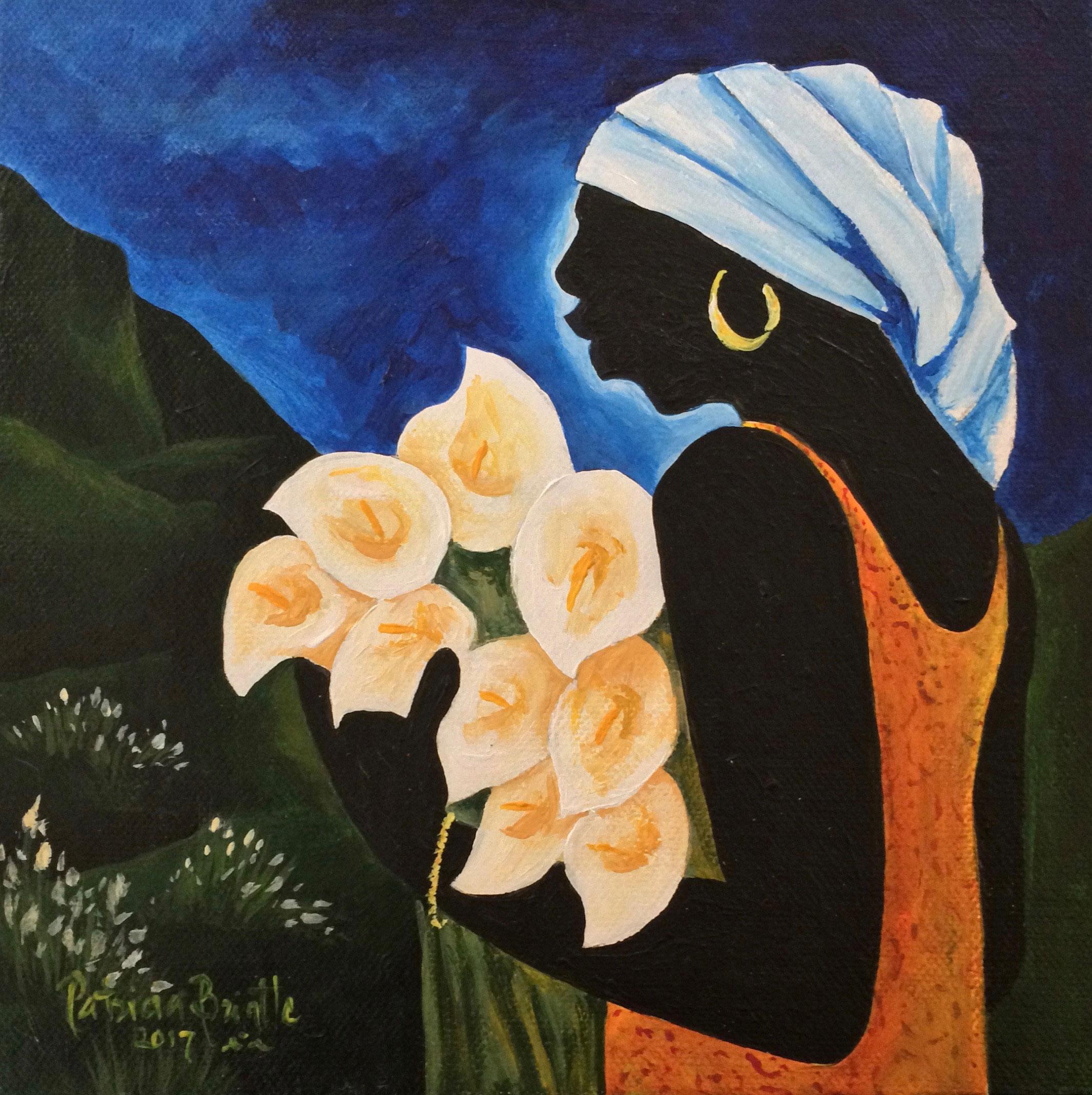 Rosalie Mae 8x8 by Patricia Brintle