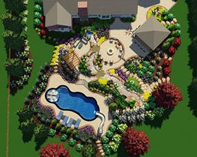 scenic view landscape design process