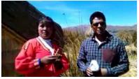 Calgary Stampede on Lake Titicaca Peru