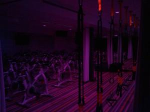 ALOFT Calgary University fitness lounge