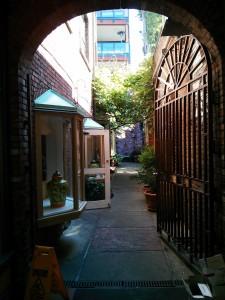 Iron gate in Victoria