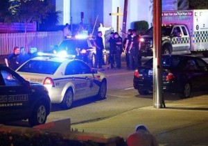 Police cars at a place of worship are becoming all too common Church Security Training - ESS Global Corp