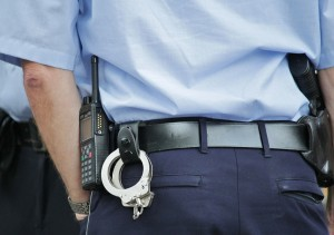 handcuff training at ESS Global