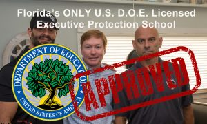 Bodyguard/Executive Protection Training in Tampa june 24-26