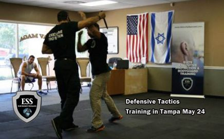 Defensive Tactics Training in Tampa May 24