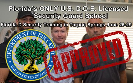 Florida D License Training in Tarpon Springs June 26-29